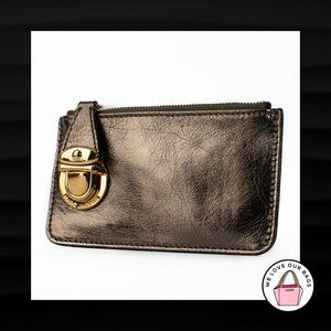 $295 MARC JACOBS LEATHER PUSH LOCK COIN PURSE
